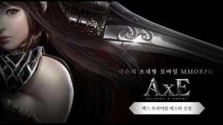 Анонсировано корейское ЗБТ мобильной MMORPG с открытым миром AxE: Alliance x Empire