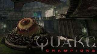 Разработчики Quake Champions показали арену Ruins of Sarnath