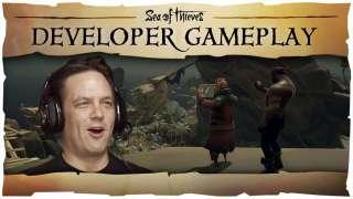 Игровой процесс Sea of Thieves от Фила Спенсера и команды Rare