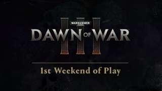 Инфографика первой недели Warhammer 40.000: Dawn of War 3