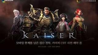 В Корее началось ЗБТ мобильной MMORPG Kaiser
