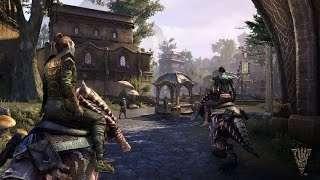 Больше геймплея TESO Morrowind: начальные локации, задания и диалоги