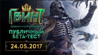 Объявлена дата начала ОБТ игры ГВИНТ