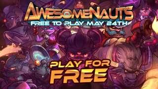 MOBA Awesomenauts перешла на Free 2 Play
