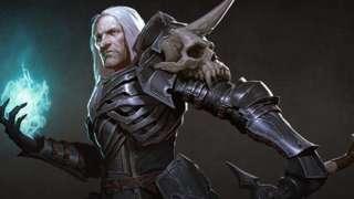 Вступительный синематик некроманта в Diablo 3