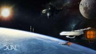 Полёт от луны к планете в Dual Universe