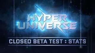Статистика закрытого бета-тестирования Hyper Universe