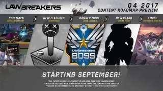LawBreakers ждут новые карты, класс и другие нововведения