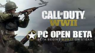 Дата начала ОБТ PC-версии Call of Duty: WWII и системные требования