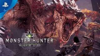 Дата выхода на PS4 и новый трейлер Monster Hunter: World