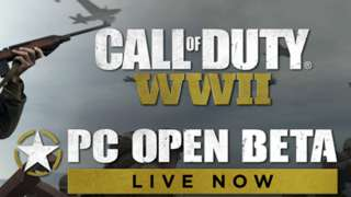 Началось ОБТ Call of Duty: WWII на PC