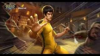 Брюс Ли теперь и в MOBA: новый герой Heroes Evolved