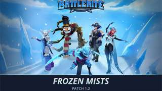 В Battlerite добавили Алисию и запустили зимний ивент