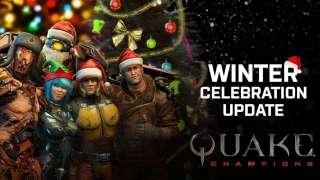Зимнее обновление в Quake Champions: герой, карта, рейтинговая игра и настройка прицела