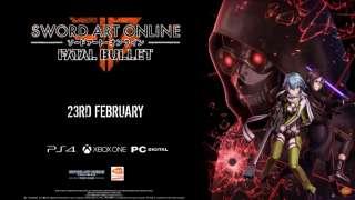 Новый трейлер Sword Art Online: Fatal Bullet демонстрирует некоторые особенности игры