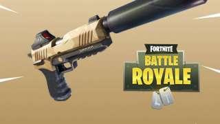 В Fortnite: Battle Royale добавили пистолет с глушителем и временный режим