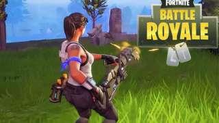 В Fortnite добавили скорострельный пулемет