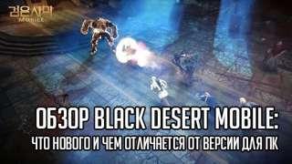 Обзор Black Desert Online Mobile: что нового и чем отличается от версии для ПК