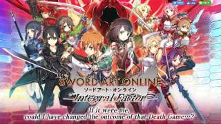 Открыта пре-регистрация западной версии Sword Art Online: Integral Factor