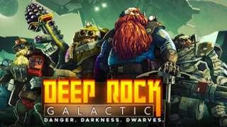 Кооперативный шутер про гномов Deep Rock Galactic вышел в раннем доступе