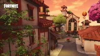 В Fortnite открылся китайский квартал
