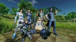Геймплей новой игры в жанре Королевская битва Horizon Source