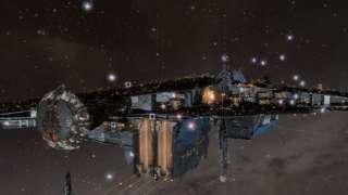 Игроки Eve Online осветили галактику в честь Стивена Хокинга