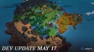 Взгляните на карту для «Королевской битвы» в Battlerite