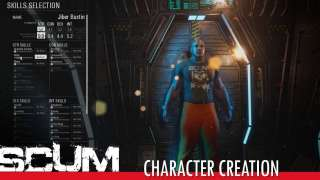 Демонстрация редактора персонажа SCUM