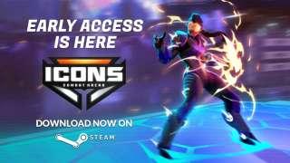 Файтинг-платформер Icons: Combat Arena вышел в раннем доступе