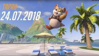 Таран переберется в основные серверы Overwatch на следующей неделе