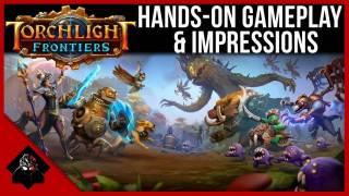 13 минут геймплея Torchlight Frontiers