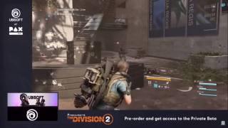Два геймплейных ролика The Division 2