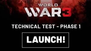 Началось закрытое бета-тестирование World War 3