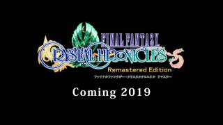 Состоялся анонс Final Fantasy: Crystal Chronicles — Remastered Edition