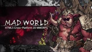 Три геймплейных ролика 2D-MMORPG Mad World