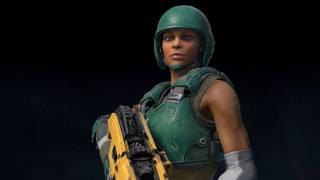 Quake Champions — встречаем нового героя Athena