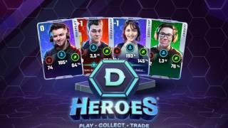 Популярные блогеры станут героями карточной игры DHeroes