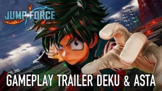 Деку и Астер в новом трейлере Jump Force