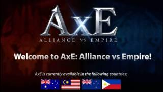 Состоялся пробный запуск глобальной версии AxE (Alliance X Empire)