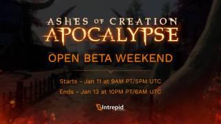Начались первые бета-выходные Ashes of Creation Apocalypse