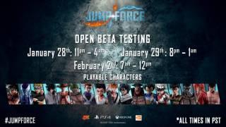 Расписание второго этапа ОБТ Jump Force