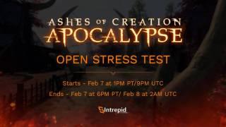 Объявлена дата проведения стресс-теста Ashes of Creation Apocalypse