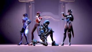 Фанатский клип «K/DA — POP/STARS» с героями из Overwatch