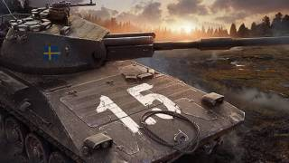 Шведская ветка в World of Tanks получила три новых танка
