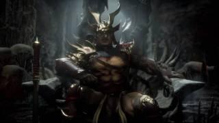 Шао Кан дубасит врагов огромным молотом в новом трейлере Mortal Kombat 11